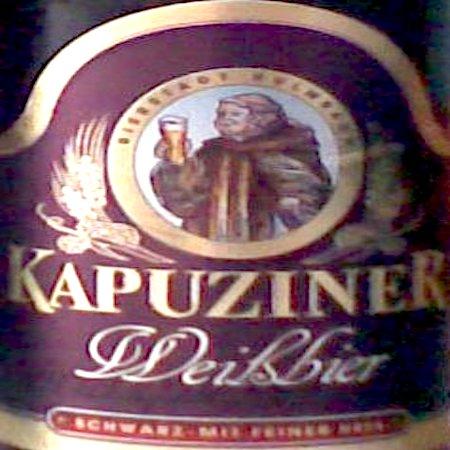Oltre il Vino…la Birra: Kapuziner Weissbier Schwarz