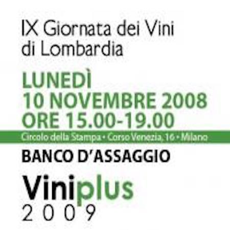 Guida Viniplus 2009: i vini che hanno ottenuto il massimo riconoscimento