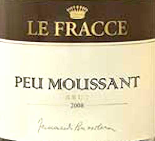 Il Vino del giorno: Peu Moussant 2008