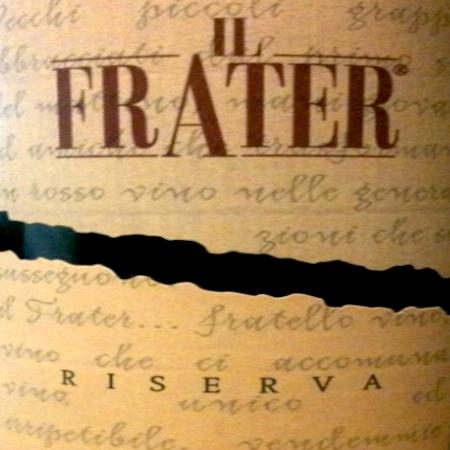 Il Vino del giorno: Il Frater 2007