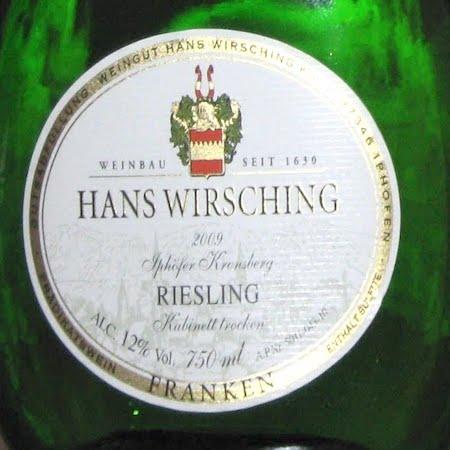 Il Vino del giorno: Riesling 2009