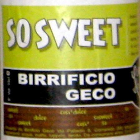 Oltre il Vino…la Birra: So Sweet