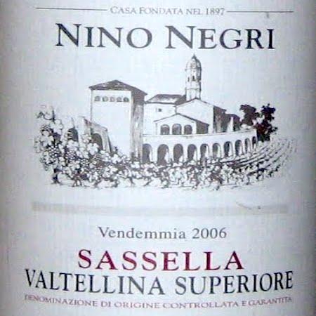 Il Vino del giorno: Sassella 2006