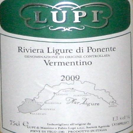 Il Vino del giorno: Vermentino 2009
