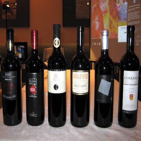 La Degustazione: I vini del Canton Ticino