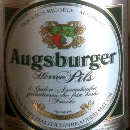 Oltre il Vino…la Birra: Augsburger Herren Pils