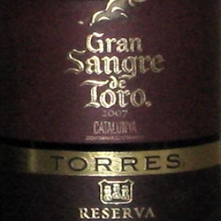 Il Vino del giorno: Gran Sangre de Toro 2007