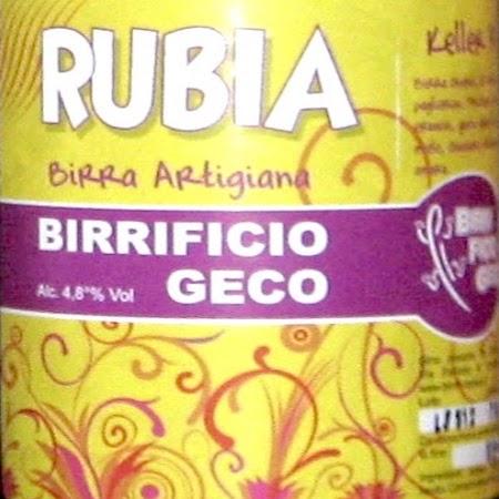 Oltre il Vino..la Birra: Rubia