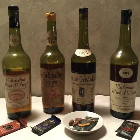 La Degustazione: Il Calvados e il cioccolato monorigine