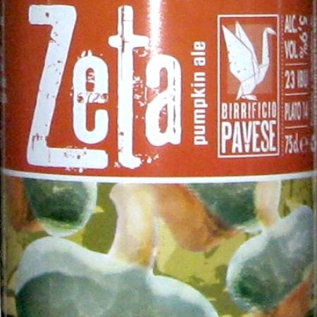 Oltre il Vino…la Birra: Zeta Pumpkin Ale