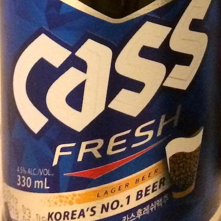 Oltre il Vino…la Birra: Cass Fresh