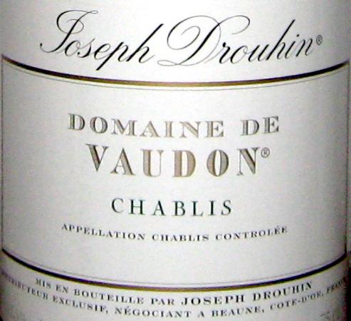 Il Vino del giorno: Chablis 2007