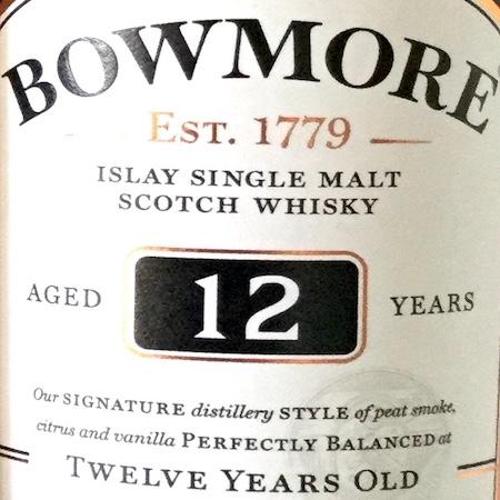 Oltre il Vino…i Distillati: Bowmore 12 Years