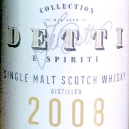 Oltre il Vino…i Distillati: Collection Detti & Spiriti aged 10 Years