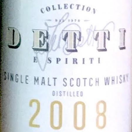 Oltre il Vino…i Distillati: Collection Detti & Spiriti aged 10 Years