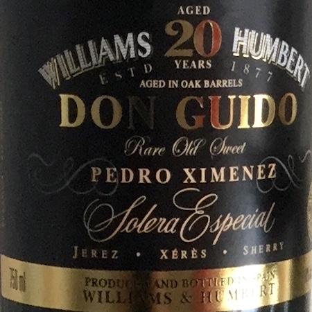 Il Vino del giorno: Don Guido 20 Years