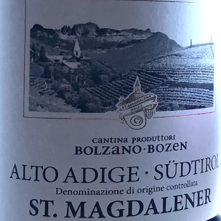 Il Vino del giorno: St. Magdalener 2017