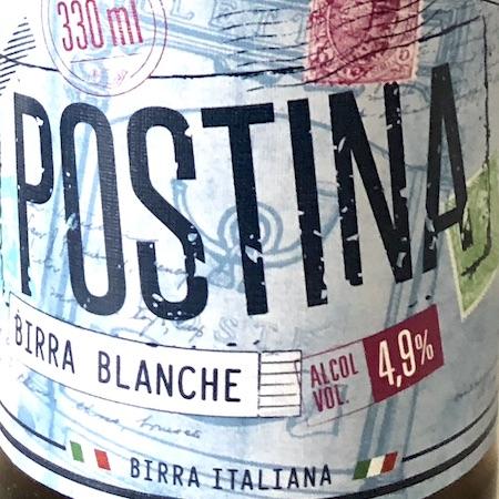 Oltre il Vino…la Birra: Postina Blanche
