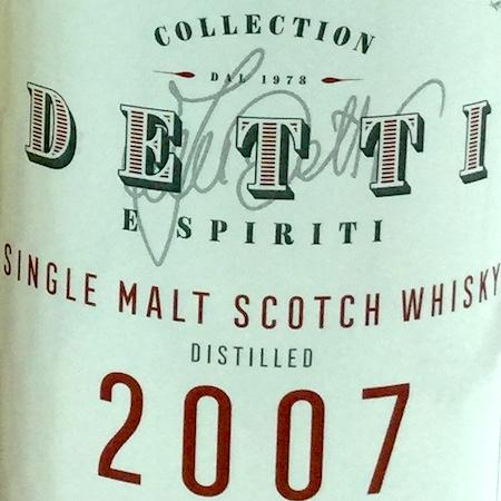 Oltre il Vino…i Distillati: Collection Detti & Spiriti aged 11 Years