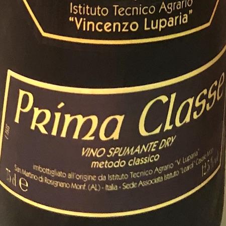 Il Vino del giorno: Prima Classe s.a.
