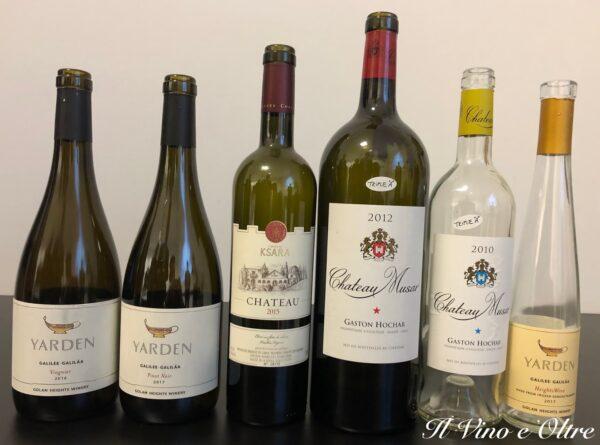 La Degustazione: i vini di Israele e Libano