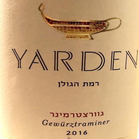 Il Vino del giorno: Yarden Gewürztraminer 2016