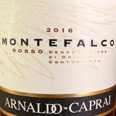 Il Vino del giorno: Rosso di Montefalco 2016