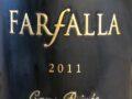 Il Vino del giorno: Farfalla Cave Privée 2011