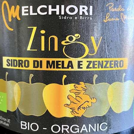 Oltre il Vino…il Sidro: Zingy