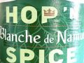 Oltre il Vino…la Birra: Blanche de Namur Spice